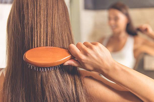 cepillar cabello en seco