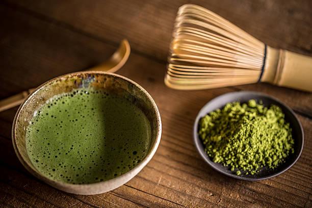 preparación té matcha