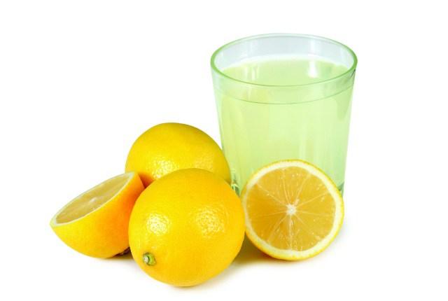 El agua de limón