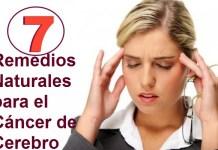 7 Remedios Naturales para el Cáncer de Cerebro