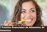 Fuentes Esenciales de Alimentos de Glutamina