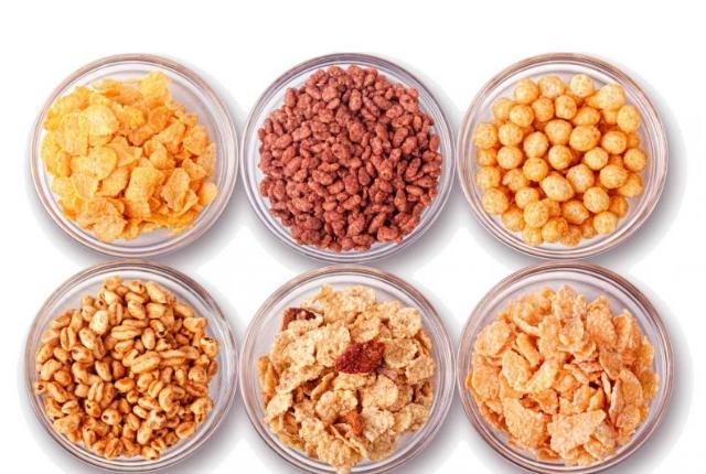 No ir para el desayuno Cereales