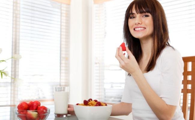 desayuno con pocas calorías