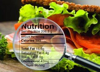 Hechos nutricionales para una vida saludable
