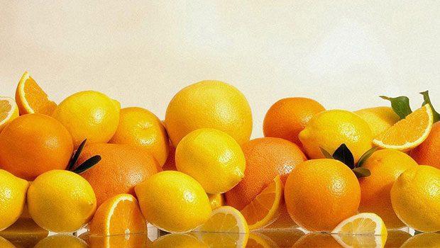 Naranjas, limones