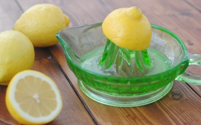 Enjuague de jugo de limón