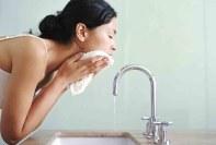 Limpiando tu piel