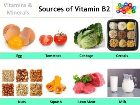 ¿De qué alimentos consigo Vitamina B2?