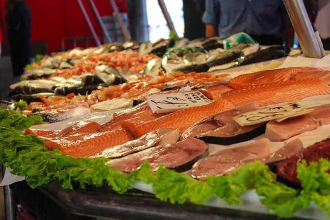 Alimentación Pescado, comida del mar