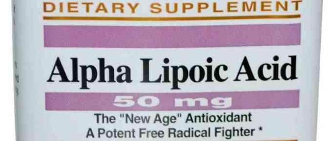 Ácido Lipoico: usos, efectos adversos, beneficios
