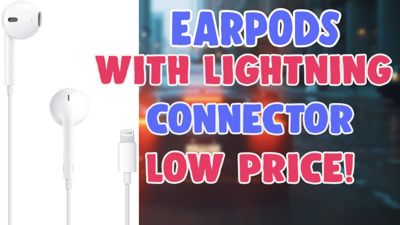 earpods with lightning connector low price