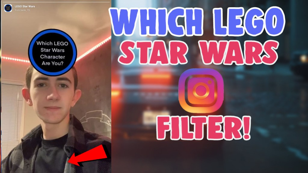 Which lego star wars character filter instagram and tiktok
