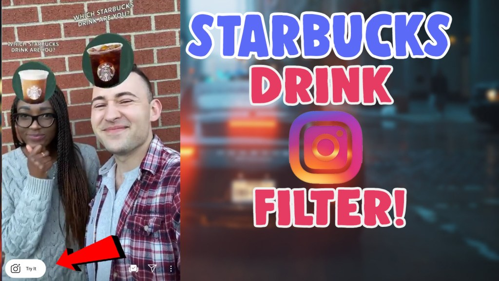 how to get the starbucks filter on instagram