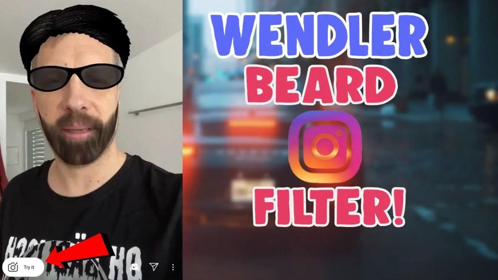 wendler beard instagram filter