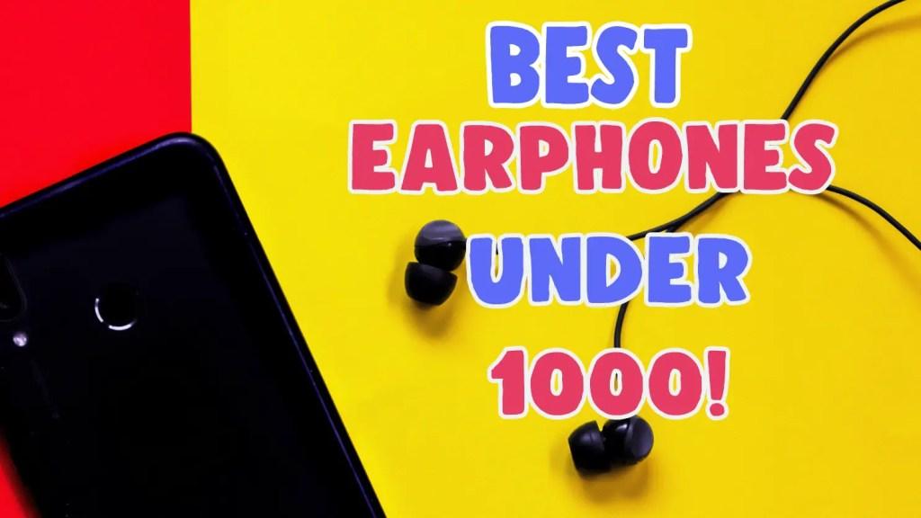 best jbl earphones under 1000 in india