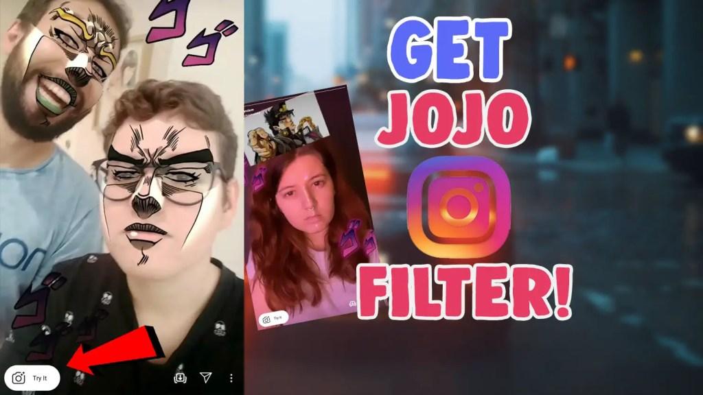 jojo instagram filter
