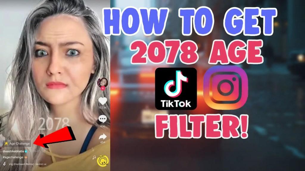 2078 aging filter tiktok instagram age challenge snapchat