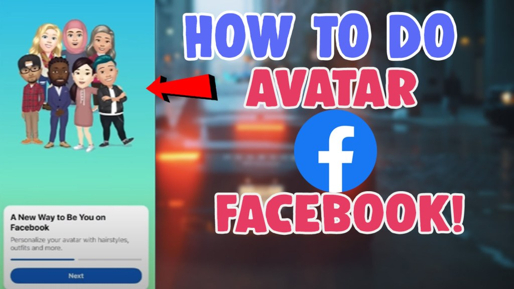 get make avatar facebook
