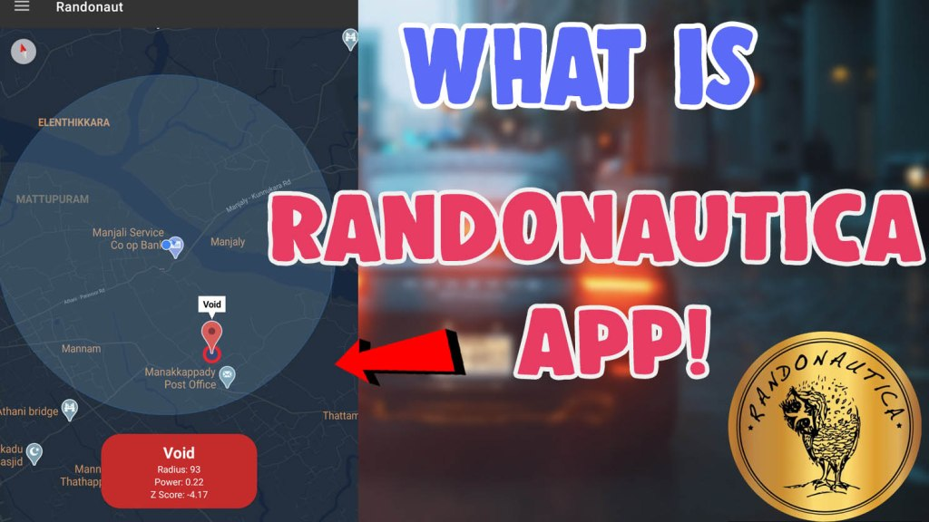 what is the randonautica app