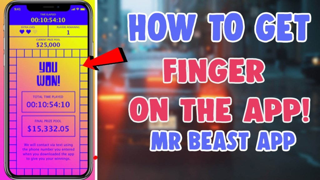 get mr beast finger on the app download ios android