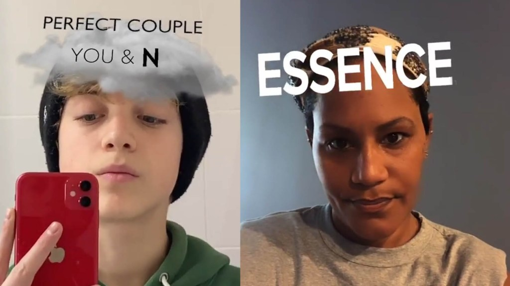 perfect couple filter essence challenge instagram tiktok
