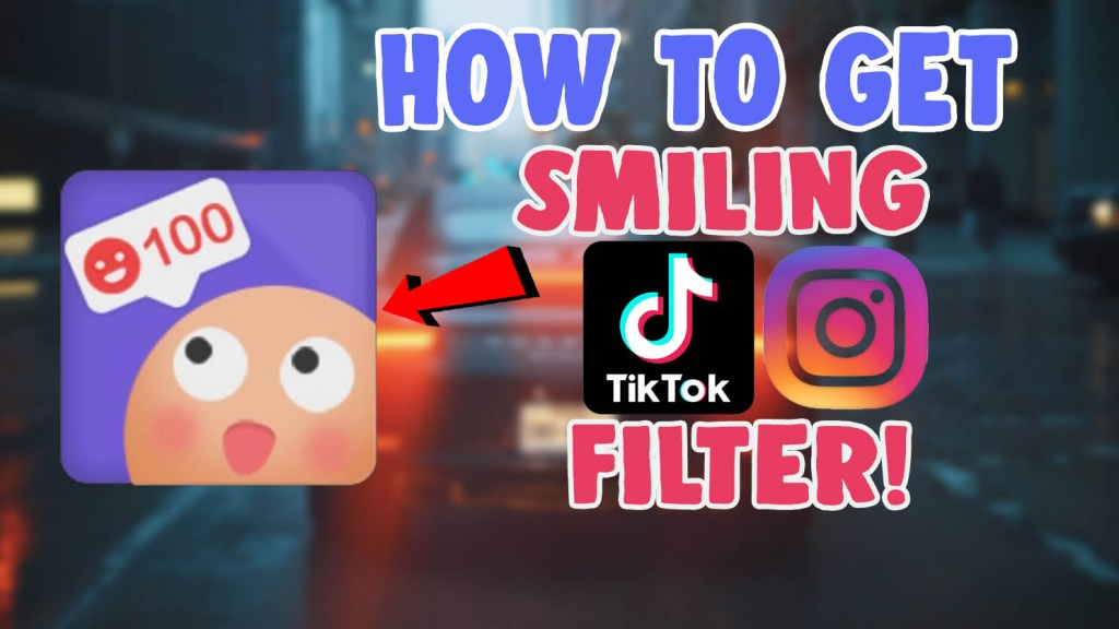 smiling filter tiktok cloud filter instagram