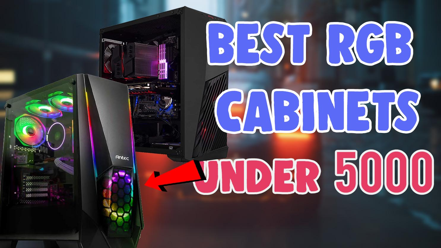 best gaming cabinet under 5000 2020 in india