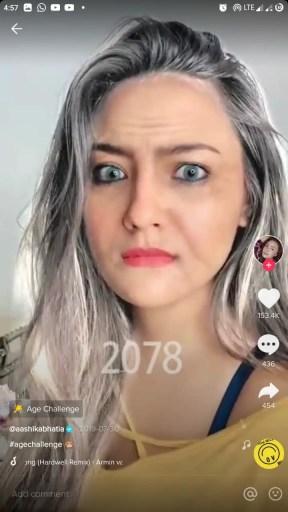 old age face filter tiktok instagram snapchat