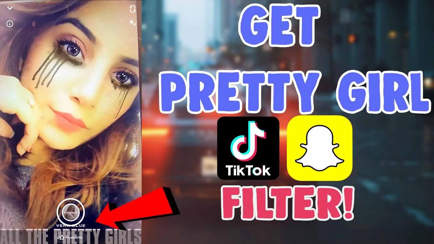 get pretty girl snapchat filter