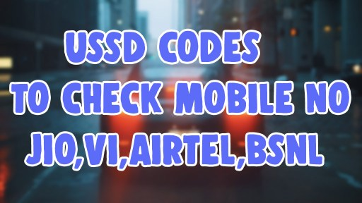 how to check jio airtel vi vodafone idea bsnl mobile number