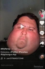 fat filter tiktok instagram snapchat