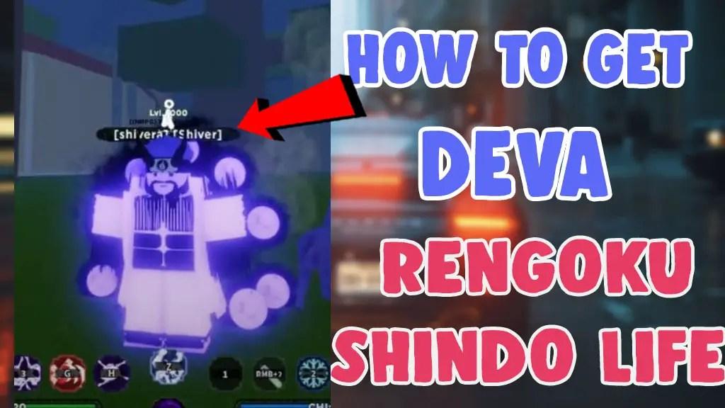 How To Get Deva Rengoku shindo life roblox