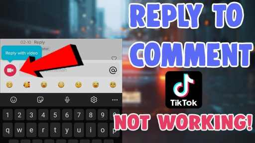 how to reply to a comment on tiktok with video