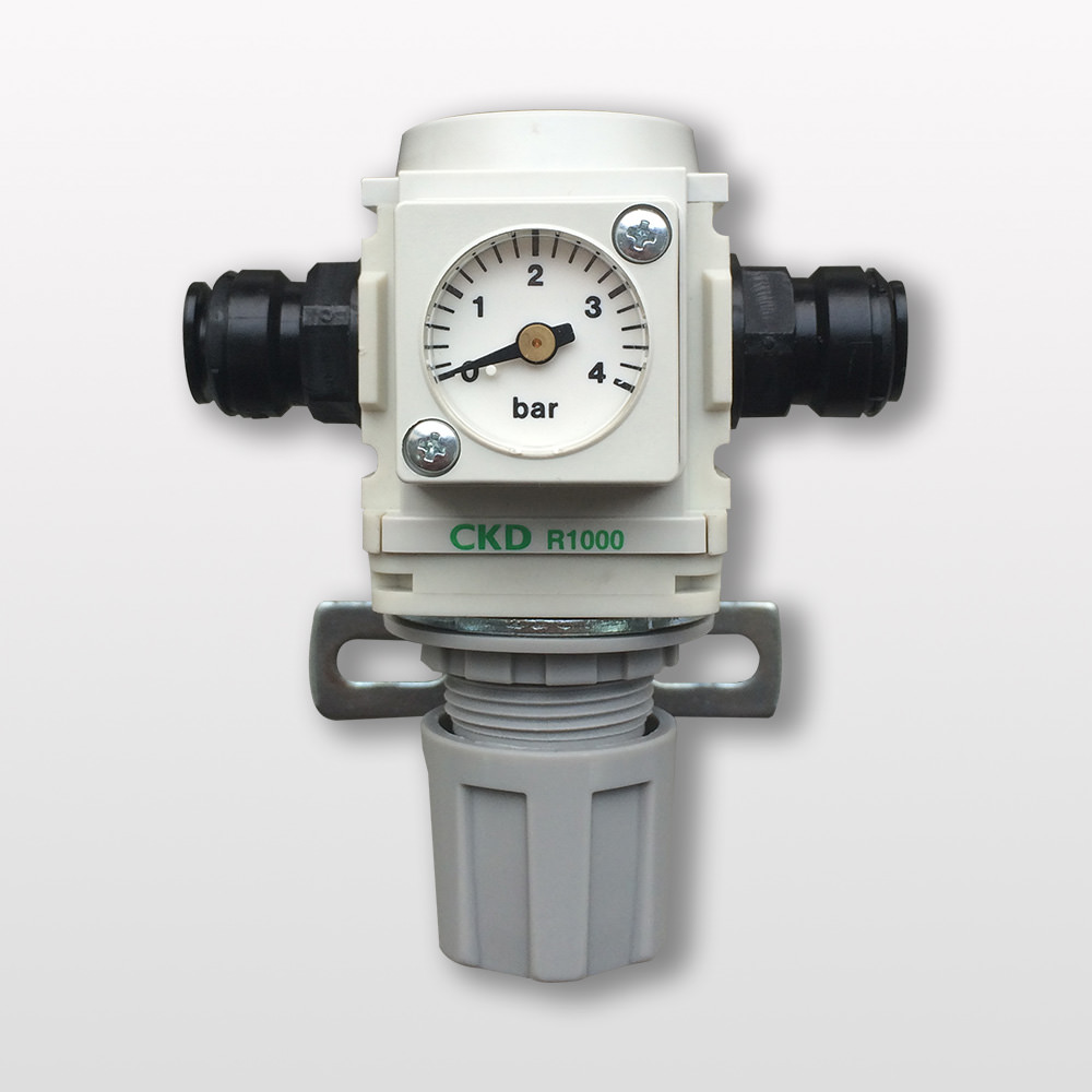Pressure Regulator, replacing Millipore ZFMQ000PR