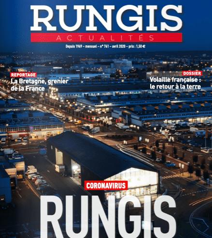 Коронавирус: оптовый рынок Рунжи, под Парижем, превращается в морг.