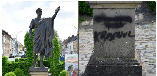 Де Голль, Гамбетта, Цезарь: рост актов вандализма во Франции и Бельгии.