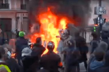 Закон «О глобальной безопасности»: в ходе субботних акций протеста пострадали 62 полицейских