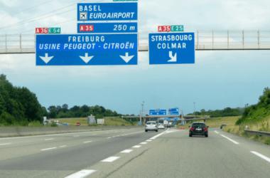 Эльзас: пьяный белорусский водитель, ехавший по встречке на А35 получил два месяца тюрьмы.