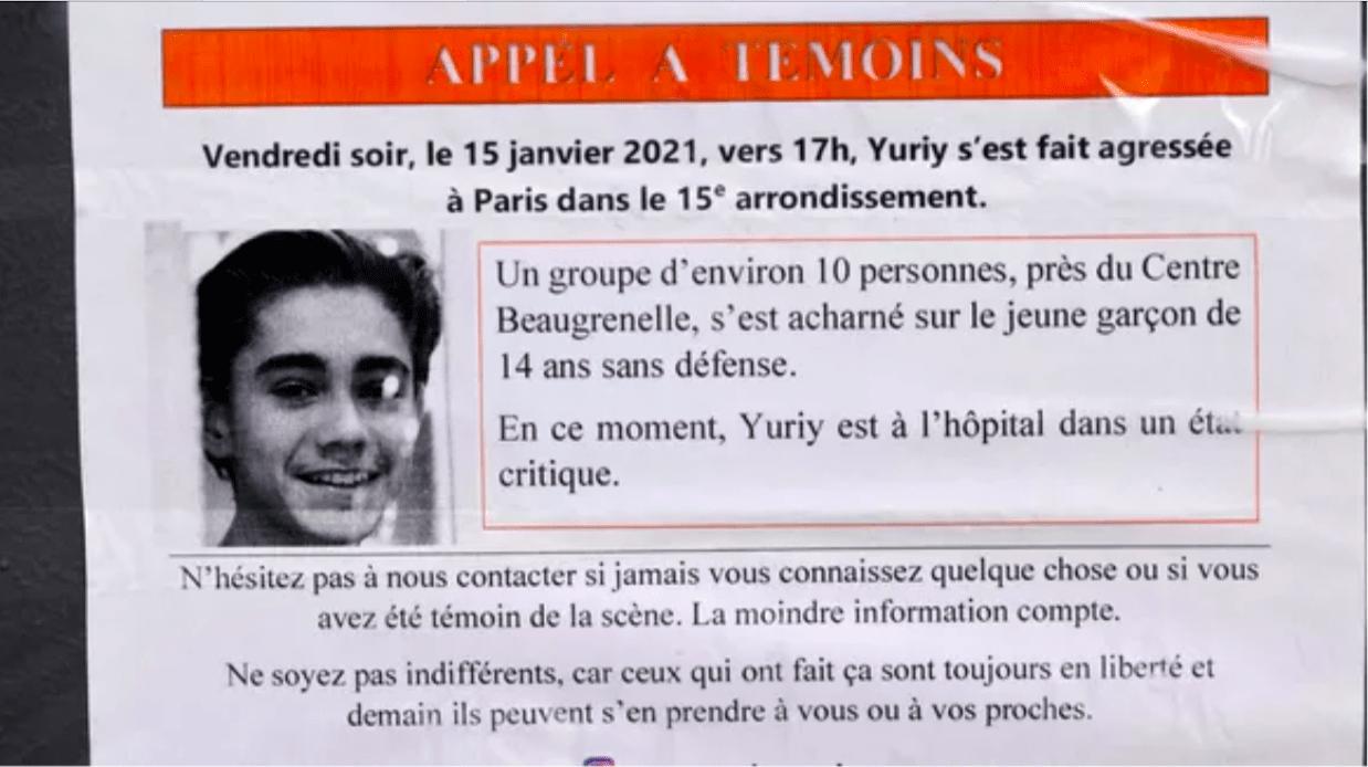 Нападение на Юрия: шестой молодой человек заключен под стражу.