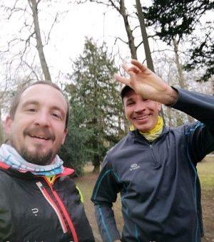 9,5 km au feeling en gardant le rythme en D+ avec Badr