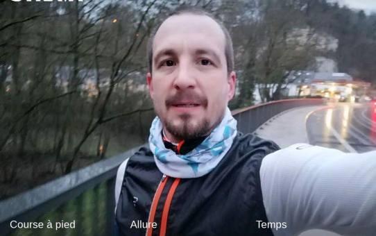 12 km au feeling, sans montre avec Tintin