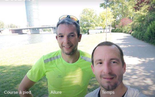 Jouer au #Lièvre pour la #MiseEnTrain d'un futur #Ironman quelle idée !!! #InstaRun #RunWithFriends #GoodTimes #Frankfurt #Ironman #Triathlon #WarmUp