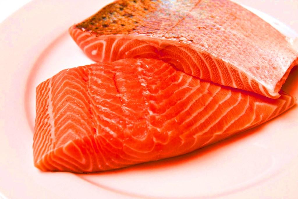 Salmone troppo colorato