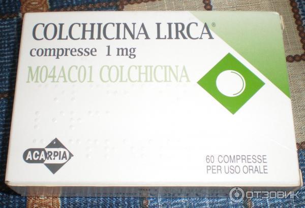 Colchicina lirca, alcuni lotti sono stati ritirati dalle farmacie