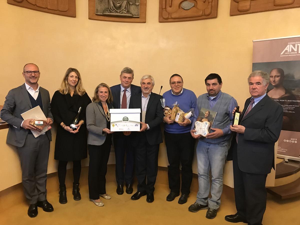 Le eccelenze culinarie di Brescia finanziano Ant e il sostegno ai malati di tumore