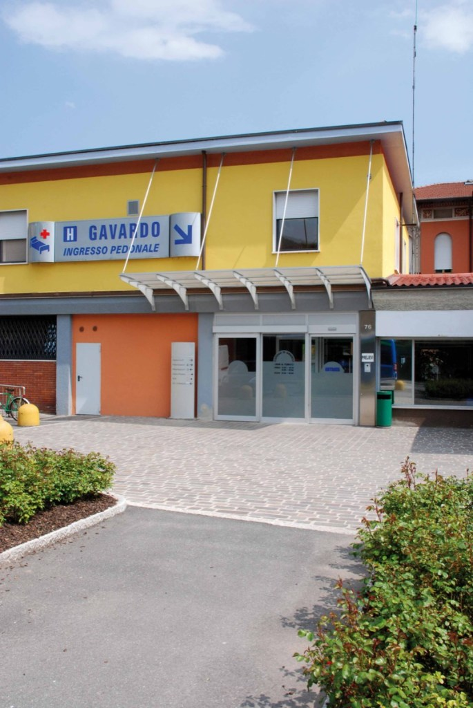 L'ospedale di Gavardo in provincia di Brescia