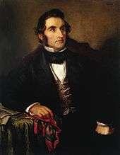 Justus von Liebig, by Wilhelm Trautschold, c. 1846