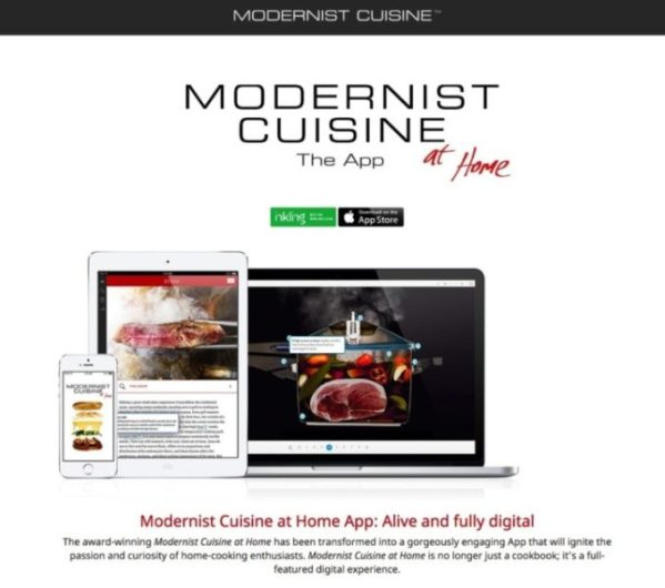 Modernist Cuisine at Home App Modernist Cuisine