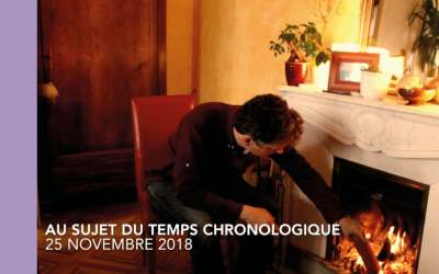 LE TEMPS CHRONOLOGIQUE
