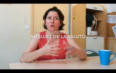 STÉPHANIE PARLE DE LA FORMATION EN SALUTO